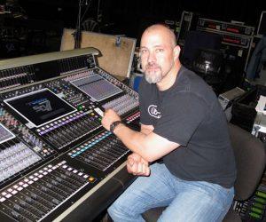 Photo of Clay Hutson in recording studio