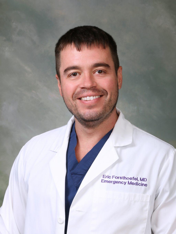 Dr. Eric Forsthoefel, ER Doctor